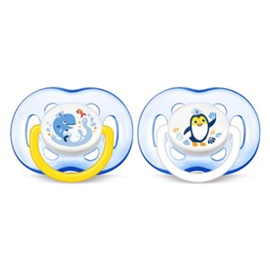 Philips Avent 0% BPA Yalancı Emzik 18 + 2'li Erkek