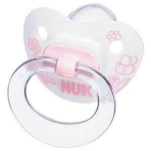 Nuk Baby Rose Silikon Emzik No:1 0-6 Ay