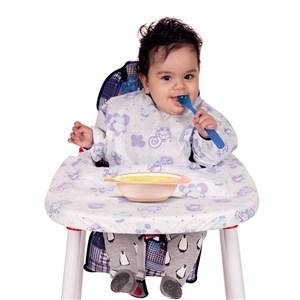 Sevi Bebe 264 Kollu Mama Sandalyesi Önlüğü (5 Adet)