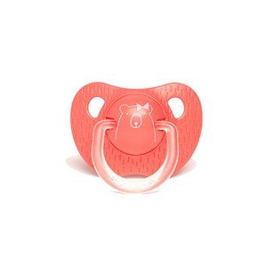 Suavinex Evolution Silikon Ortodontik Emzik 12+ Ay Pink Bear