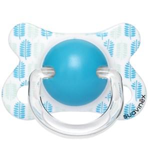 Suavinex 3801249 Fusion Ortodontik Silikon Emzik 2-4 Ay Mavi