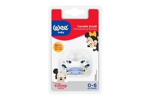 Wee Baby Disney Desenli Damaklı Emzik No:1