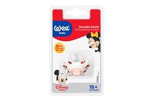 Wee Baby Disney Desenli Damaklı Emzik No:3